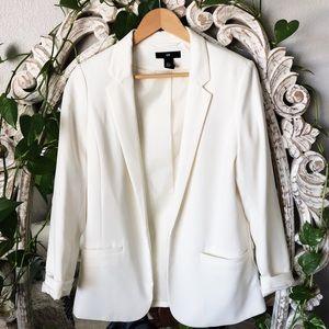 H&M White Blazer NWOT